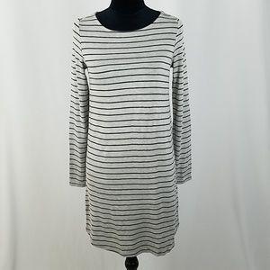Soft Joie women XS bodycon striped shirt dress